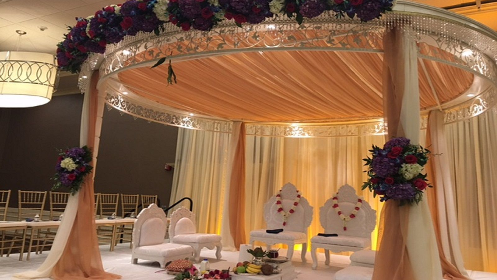Indian Weddings - Indian Ceremony Setup