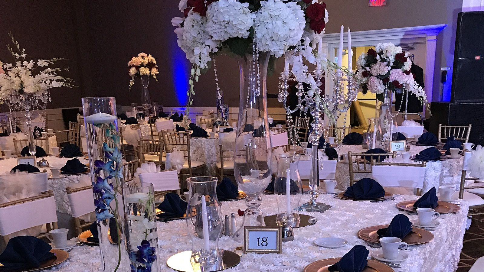 Indian Weddings - Table Setup